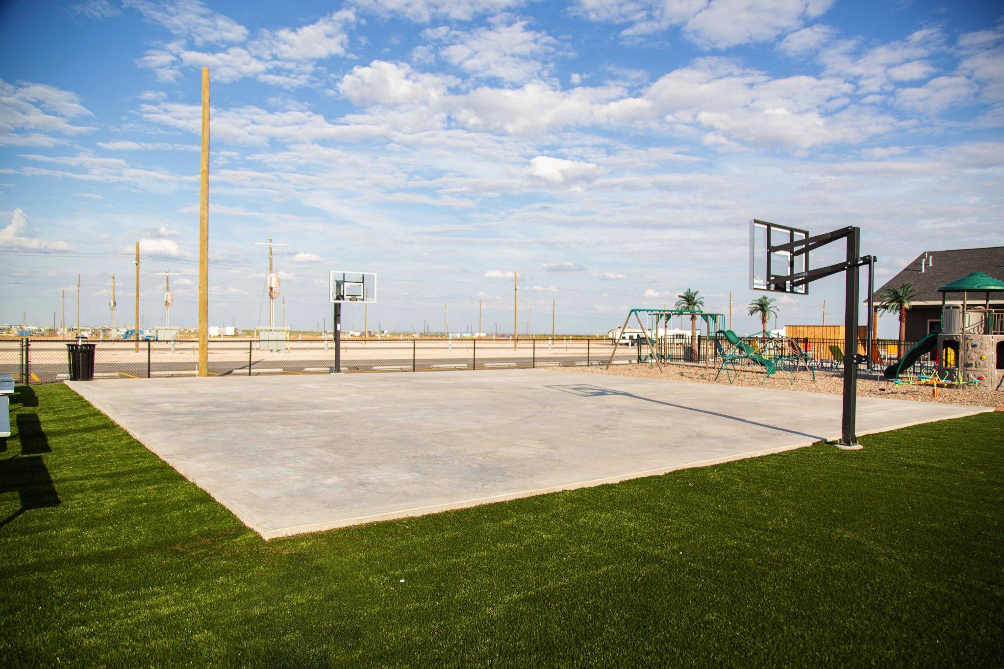 Park Place RV Park Odessa, TX 79766 - basketball