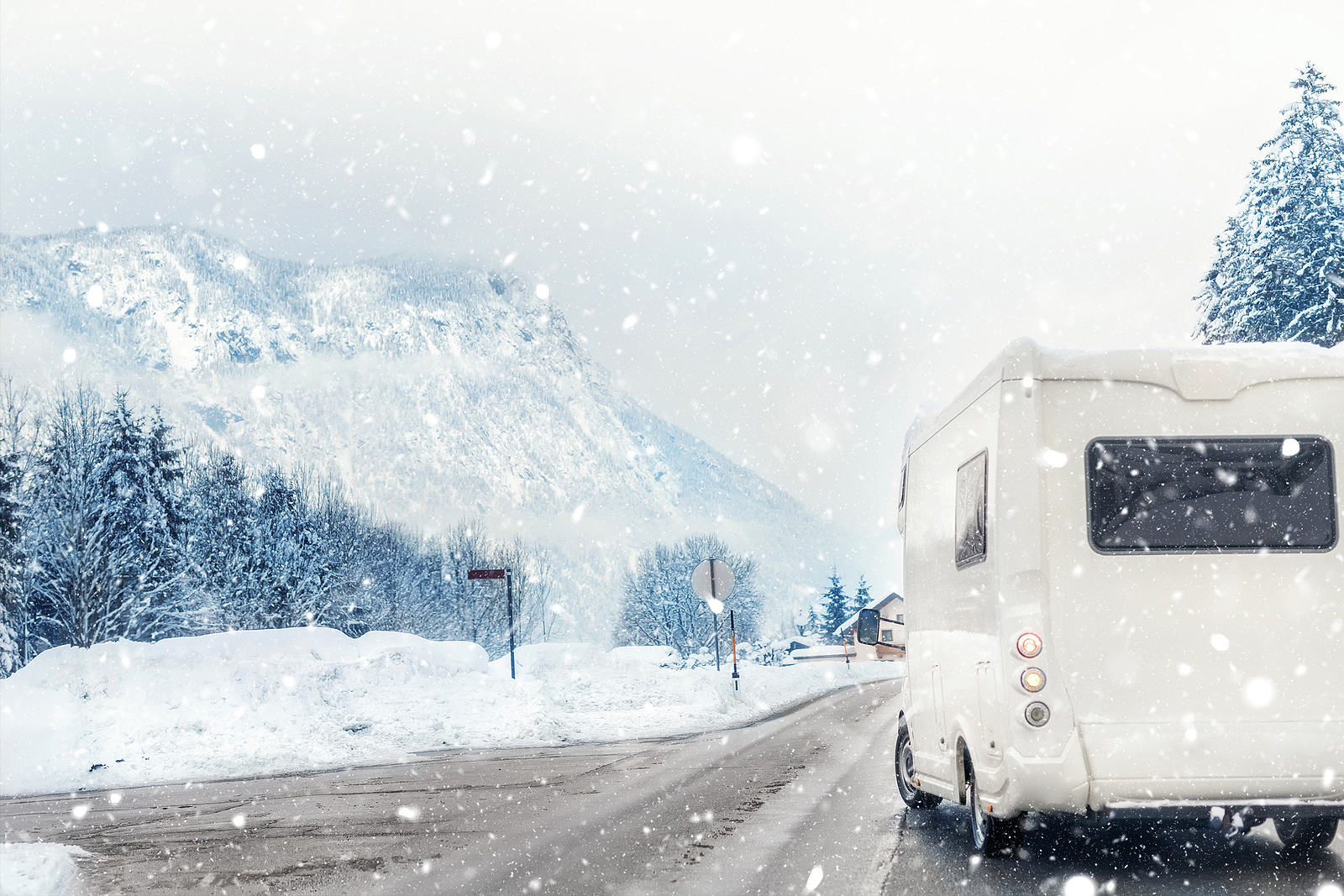 Winterizing RV